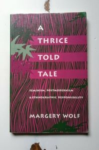 Anthropology Book | A Thrice Told Tale by M.W.
